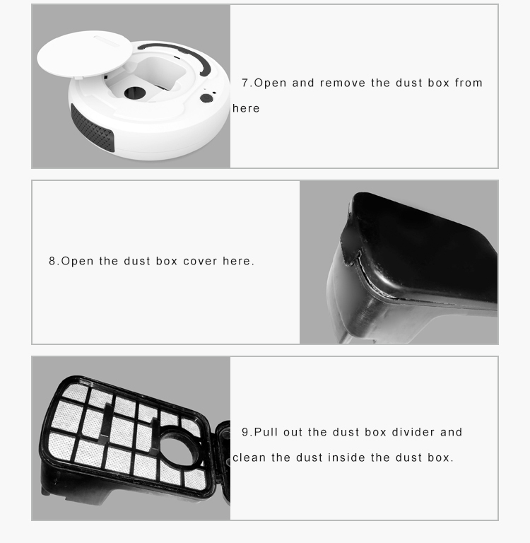 H37cf1ee86380464a89400aa1f369fb51C LEARNHAI Christmas Gift OB8 Automatic Rechargeable Strong Suction Sweeping Smart Clean Robot Vacuum Cleaner For Home Office