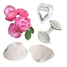 Новый многоцветковые цветок Вайнер силиконовые формы украшения