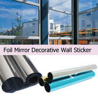 One Way Mirror Home Glass Privacy Film Solar Reflective Window Tint Roll Decoration For Glass 1m