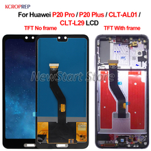 "TFT For Huawei P20 Pro P20 PLus CLT AL01 CLT L29 LCD Display Touch Screen Digitizer Assembly 6.1"" For Huawei P20Pro P20PLus lcd"