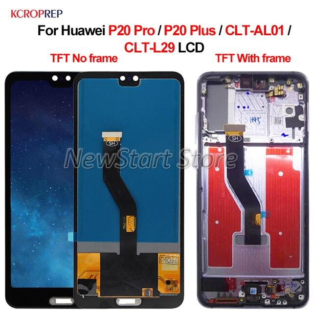 """TFT لهواوي P20 برو P20 زائد CLT AL01 شاشة LCD CLT L29 تعمل باللمس محول الأرقام الجمعية 6.1 """"لهواوي P20Pro P20PLus lcd"""