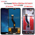 TFT para Huawei P20 Pro P20 más CLT-AL01 CLT-L29 pantalla LCD de montaje de digitalizador con pantalla táctil 6,1