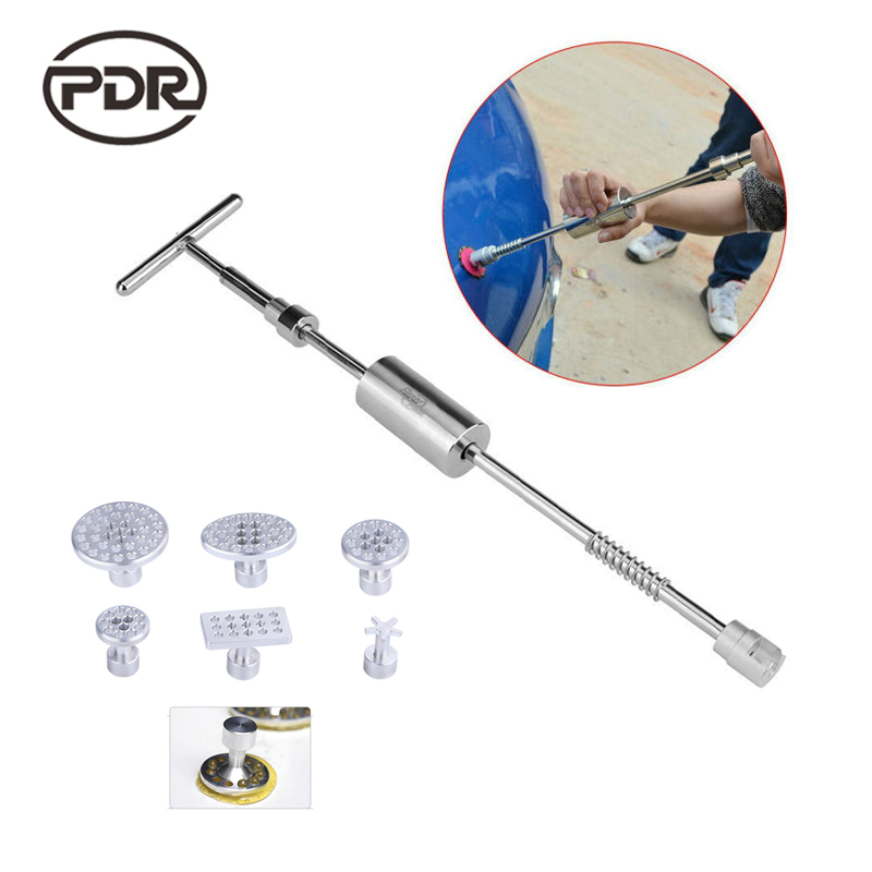 PDR Car Dent Puller Dent Remover Tool Dents Puller Straightener  Paintless Dent Remover Kits Household Tool Set