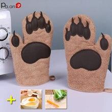 2 шт Силиконовые перчатки для духовки микроволновая печь выпечки
