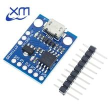 10 PÇS/LOTE ATTINY85 Módulo Placa de Desenvolvimento para Arduino Digispark Kickstarter Micro USB