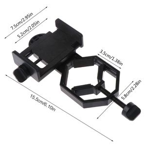 Универсальный адаптер для мобильного телефона, монокулярный микроскоп, аксессуары, адаптированный телескоп, аксессуар для мобильного теле...