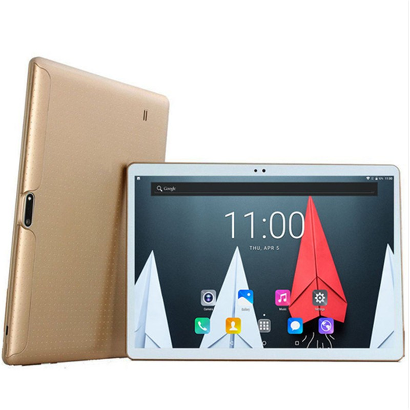 1280*800 IPS Screen 10 Inch Android 8.0 Tablet Pc With Google Play 10 Core 6G+128GB 4G Phone Call Tab Wifi GPS Bluetooth Tablet