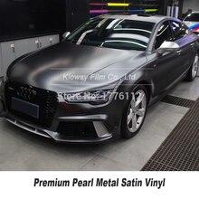 Película de envoltura metálica de vinilo mate para coche, tamaño 5/10/18 m, disponible en varios colores, garantía de alta calidad