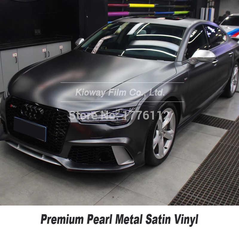 最高品質carskinsビニールラッピングフィルムマットメタリックビニールラップ紙 5 メートル/10 メートル/18 メートル多色品質保証