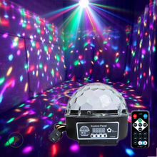 Stage Lamp Led Disco Ball Light Laser 9 Colors 9W 21 Modes DMX DJ Sound Party Light Projector Soundlights Crystal Magic Ball bluetooth crystal magic ball led stage lamp modes disco laser light party lights sound control christmas laser projector