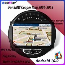 8G 128G Auto 2 Din Radio Touch Screen GPS Navigation Für BMW Cooper Mini 2006-2013 Autoradio stereo Empfänger Multimedia Player