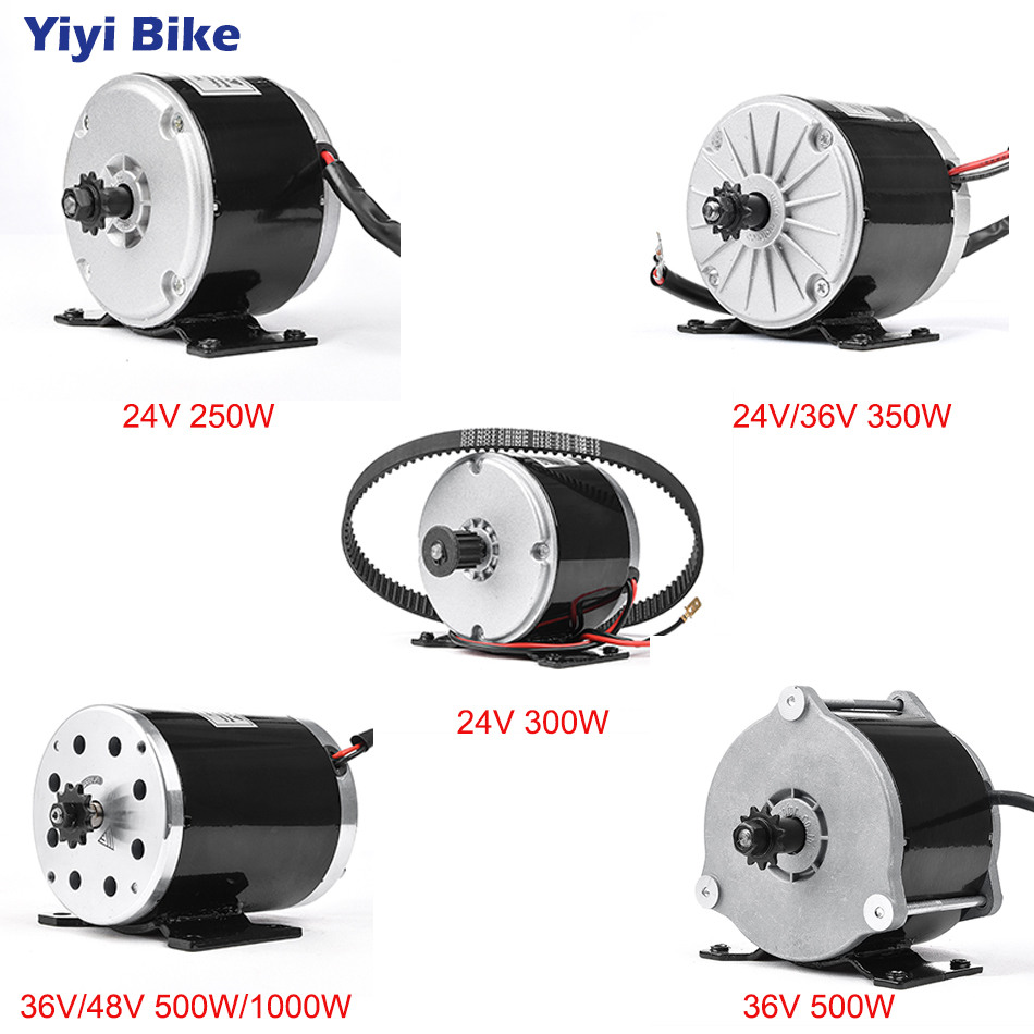Electric Bike Conversion Kit <font><b>24V</b></font> 36V 48V <font><b>DC</b></font> Brushed <font><b>Motor</b></font> 250W/350W/<font><b>500W</b></font> Electric <font><b>Motor</b></font> Mid Drive <font><b>Motor</b></font> 1000W Road Bike Wheels image