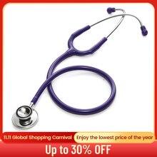 المهنية سماعة رأسية مزدوجة مزدوجة رئيس سماعة القلب معاطف للأطباء والممرضات معدات طبية الطبيب البيطري