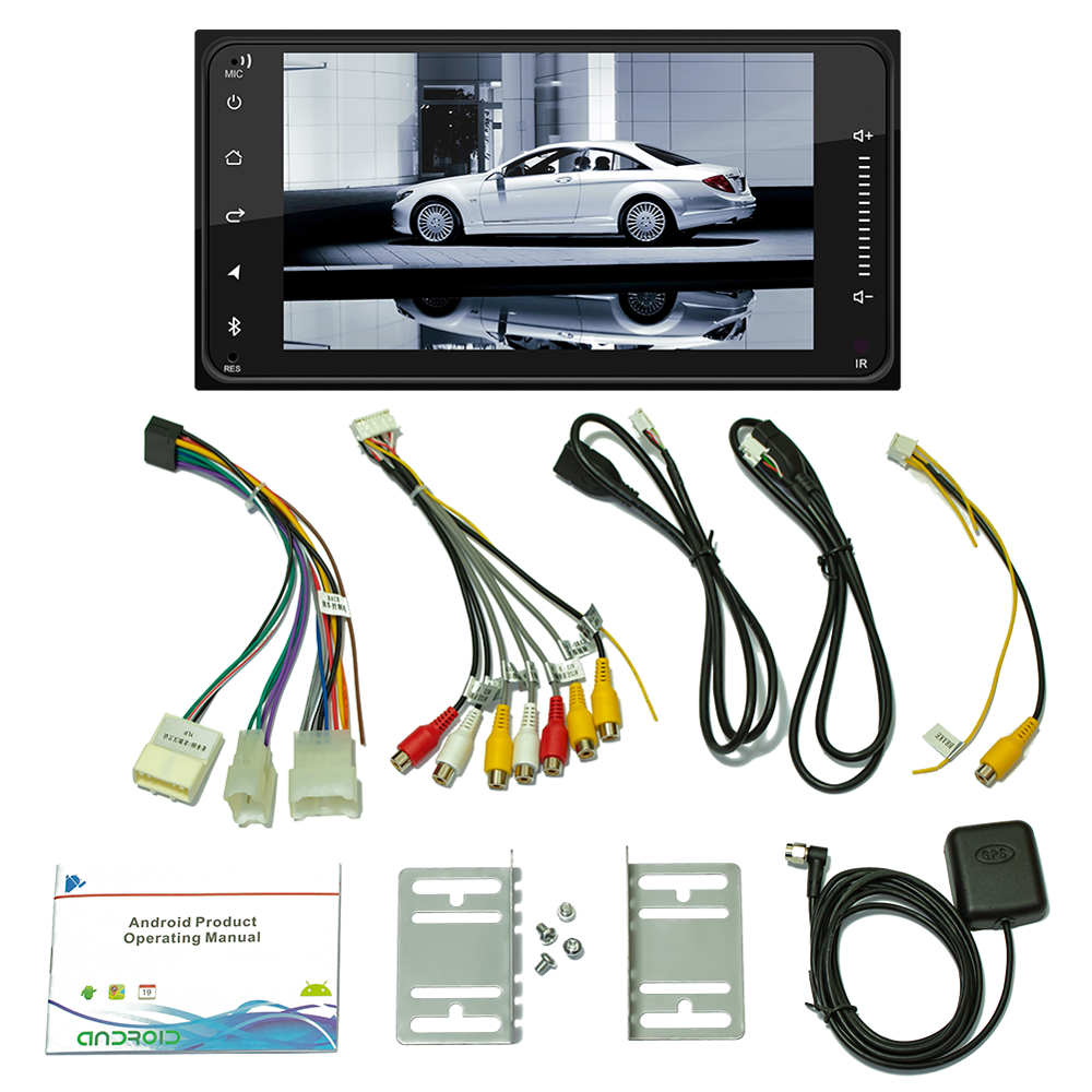 car Android 8.1 Gps for <font><b>toyota</b></font> avalon <font><b>4runner</b></font> Rav4 prius corolla tundra 7inch screen car radio multimedia player HD movie play image