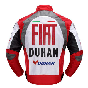 Image 4 - 2020 new Original DUHAN D 082 overalls Moto GP jacket motorcycle D082 knight jacket Repsol best quality red blue cotton lining