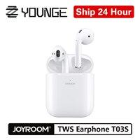 Joyroom T03S Wireless Earphones Bluetooth 5.0 In Ear With Pop Up Window Headset Wireless Charger Touch True TWS Binaural Earbuds