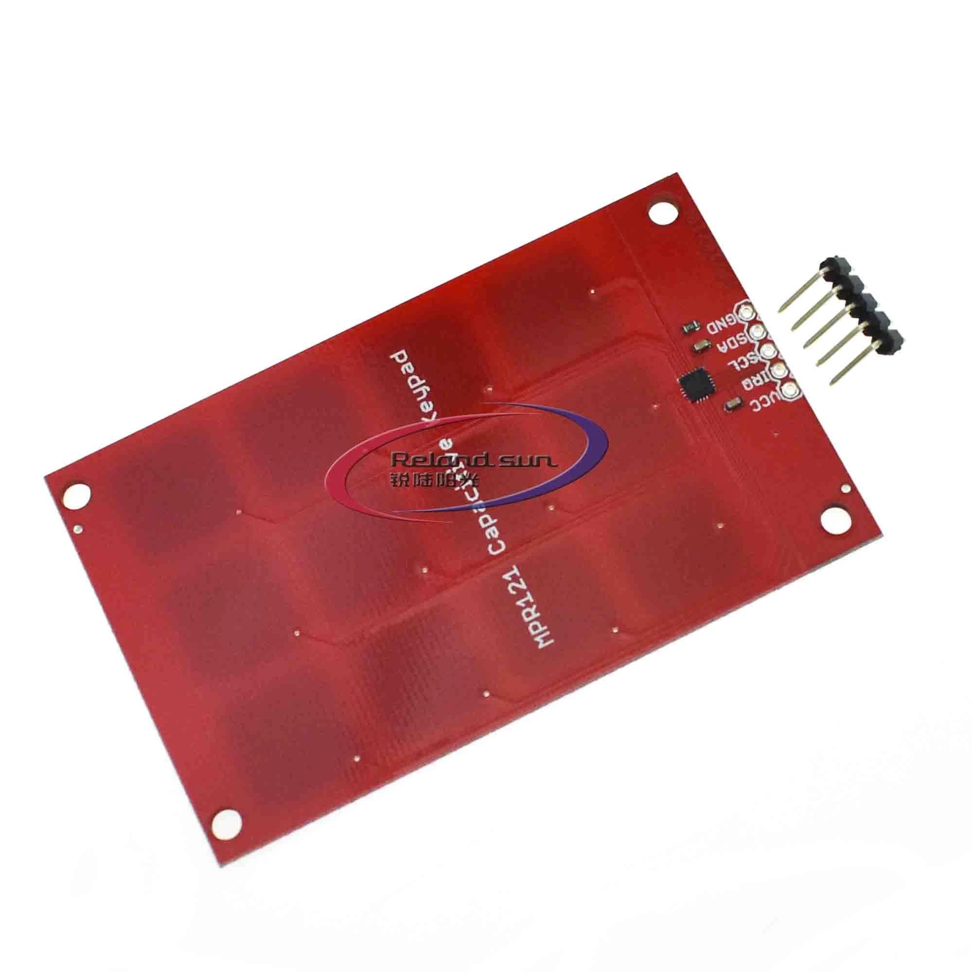 Balance World Inc 1Pcs MPR121 CJMCU-122 Capacitive Touch Sensor Buttons Keys Module for Arduino SS