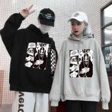 2020 Hot Sale Tops Naruto Spring Autumn Couples Hip Hop Hoodies Trendy Slouch Pullover Long Sleeves Streetwear Sweatshirt