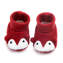 Autumn And Winter Heat-Baby Shoes Cartoon Animal Cotton Shoes Soft Bottom Sleeves BABY #8217 S Shoes Toddler Shoes cheap First Walkers Tube 14 Within Long 13 Cm Yellow Puppy Floral Embroidered Thick 2 Days D2014 Anti Slip Hight top Currently Available