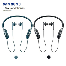 Samsung U Flex Neckband Hearphone with Bluetooth 4.2 Flexible Design Seamless Music Playback for Galaxy S10 EO BG950