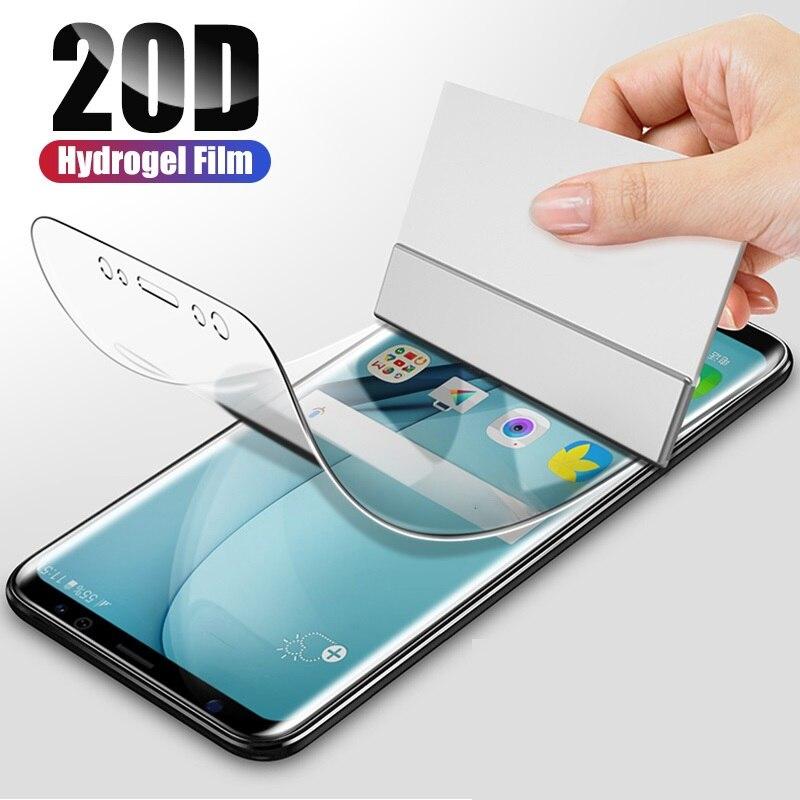 Filme de hidrogel para nokia 1 2 3 5 6 7 8 filme transparente para nokia x5 x6 x7 x71 protetor de tela frente 9h filme não vidro