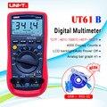 UT61B UNI-T Цифровой мультиметр Авто Диапазон RS232 USB ПК программное обеспечение хранение данных температура Автоматическое отключение питания л...