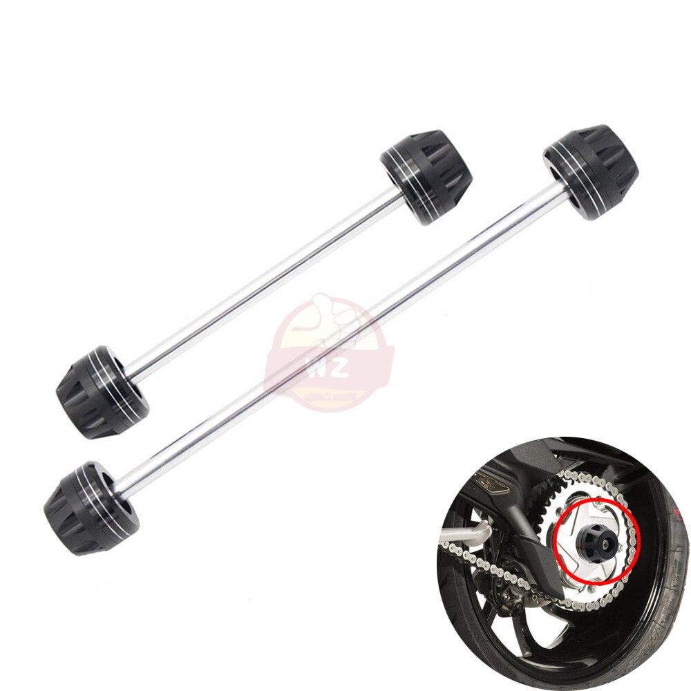 For SUZUKI GSR 750 GSR750 11-14 / GSX-S750 GSXS750 15-16 Motorcycle Aluminum Front & Rear Fork Shock Sliders Wheel Protector