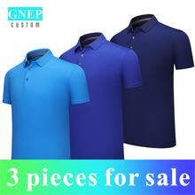 Летняя дышащая мужская рубашка поло 3 предмета Распродажа по