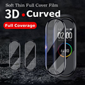 3D Curved Edge Protective for xiaomi mi band 4 Soft Scratch-resistant miband 4 film Full cover HD mi band 4 screen protector