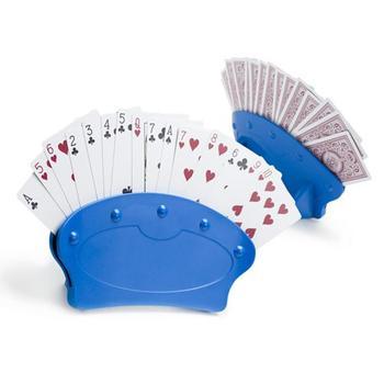 Poker rack Imperial Home 1Pack gra noc karty do gry posiadacze-stojące plastikowe karty do gry posiadacz karty do gry doskonały dla dzieci 2020 tanie i dobre opinie 3 lat 0-30 minut Primary Normalne Other Karty uno Support Lazy Artifact Poker Playing Playing Card Stand