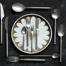 Столовая посуда ins матовый нож и вилка из нержавеющей стали