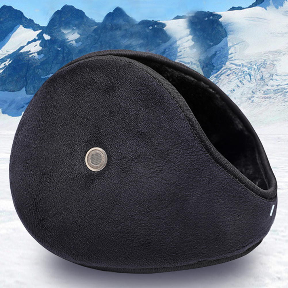 Unisex Ear Protector Winter Accessory Cover Fashion Plush Earmuffs With Earholes Answer Phone Hunting Ear Warmer Outdoor Skiing