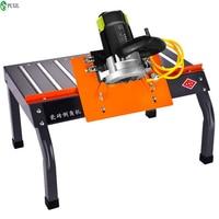 Desktop tile cutter 45 degree dust free edge cutting machine