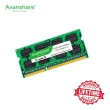 Avanshare ram ddr3 4gb 8gb 2gb 1333 1600mhz memória do portátil memoria 240pin 1.5v novo dimm