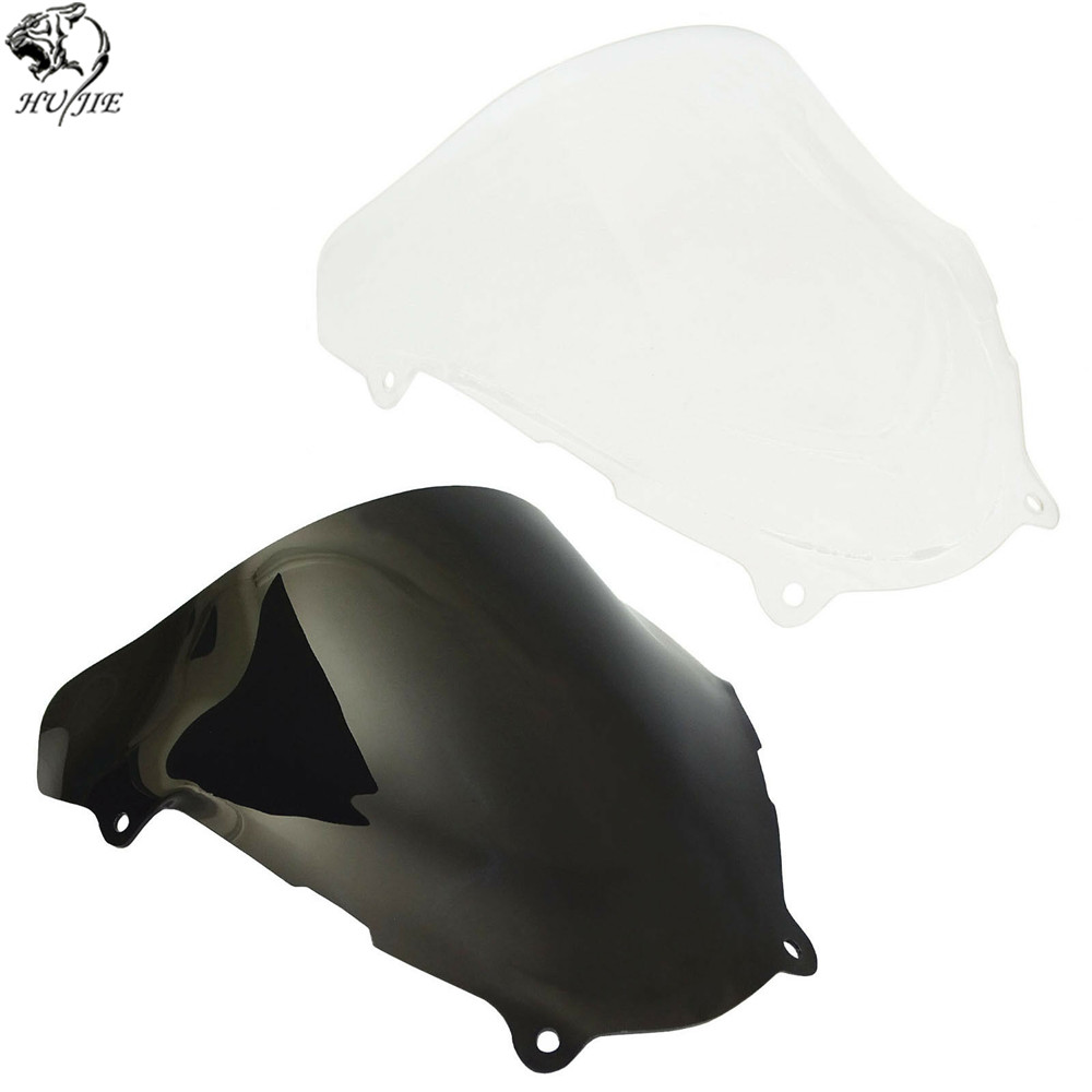 For Suzuki SV650 SV650S SV 650 650S 1999 2000 2001 2002 Double Bubble Windscreen Windshield Shield Screen-in Windscreens & Wind Deflectors from Automobiles & Motorcycles