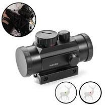 Point rouge de Chasse tactique, 1x40 ème vue optique, 11mm 20mm, montures, fusil, Point de visée et télescope de Chasse