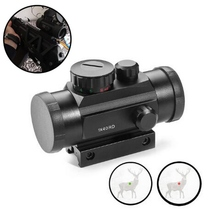 Tactical Hunting Red Dot 1X40RD Optical Sight 11mm 20mm Mounts Riflescope Aim Point Rifle Scope and Chasse Telescope