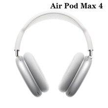 Écouteurs sans fil Bluetooth 1:1, copie Pod 4 avec câble de chargement pour AirPods Max, étui de casque