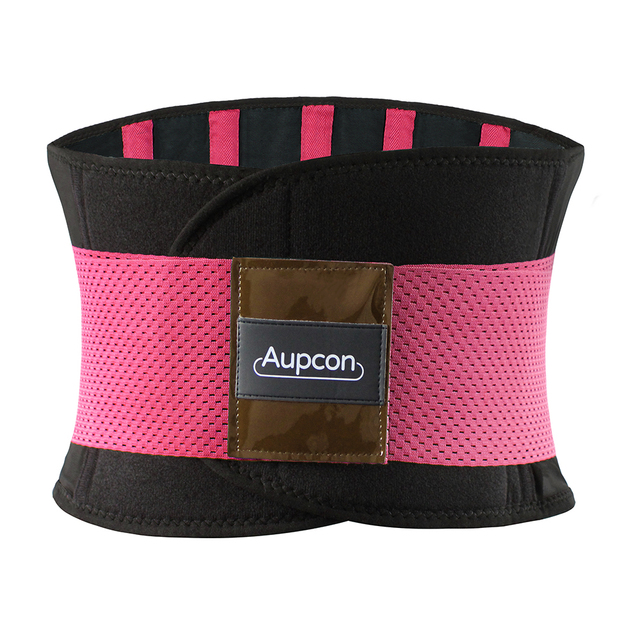 AUPCON Sweat Belt for Men & Women Sport Shapewear,Waist Trimmer Waist Trainer Sport Fitness Weight Loss Burning Fat Body Buildin 2