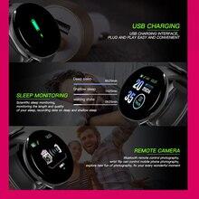 Montre Intelligente Bluetooth Ronde Mixte  étanche Sport