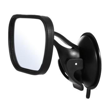 Mini bezpieczeństwa tylne siedzenie samochodowe dziecko widok lustro regulowane dziecko tylne wypukłe lustro samochód dziecko dzieci Monitor akcesoria samochodowe tanie i dobre opinie Glass Wnętrze lustra Car Baby Rear View Mirror 2017