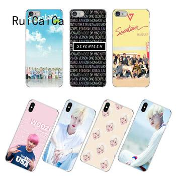 RuiCaiCa KPop Seventeen JEONGHAN 17 чехол для телефона fundas для iPhone 12 8 7 6 6S Plus X XS MAX 5 5S SE XR 12 11 pro max coque image