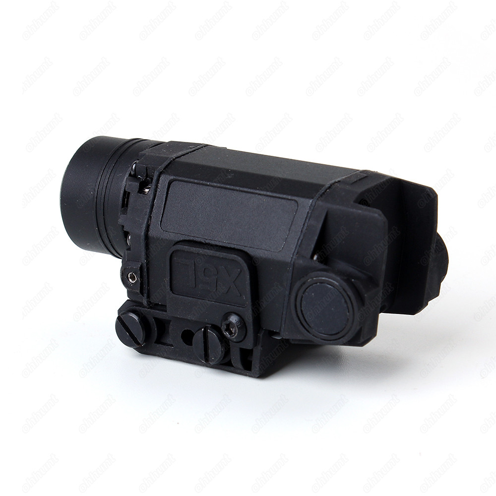 Glock tactical laser lanterna led combinação verde