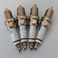 イリジウム合金グロースパークプラグキャンドルエンジン点火スペアパーツメルセデスベンツ C200K E200K M271 1.8t 1.8l 4 ピース/ロット