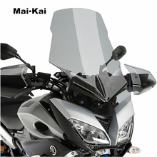 цена на MAIKAI For YAMAHA MT-09 FZ-09 TRACER 2014-2018 Motorcycle Windscreen Wind Deflector Windshield Head Cover Sun Visor Visor Viser