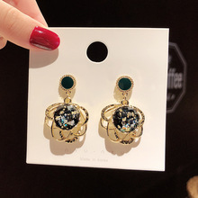 Korea Petal Acrylic Earrings For Women Metal Fashion Statement 2019 Geometric Bohemian Jewelry Wedding Party