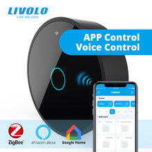Livolo New Series Smart Movable ZigBee Gateway,Smart WiFi Controller by SmartPhone,google home,alexa,echo,Work With smart Switch