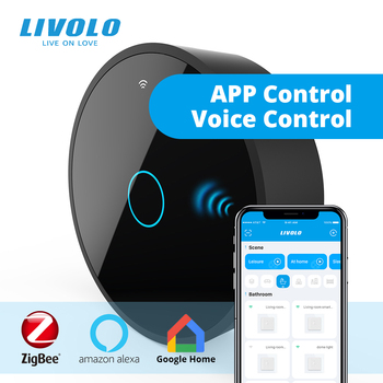Livolo New Series Smart Movable ZigBee Gateway,Smart WiFi Controller by SmartPhone,google home,alexa,echo,Work With smart Switch - discount item  30% OFF Electrical Equipment & Supplies