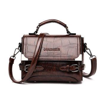 Nowe torebki damskie Vintage torebki damskie luksusowe torebki damskie torby na ramię torebki damskie Crossbody torebki damskie marki mody tanie i dobre opinie LGLOIV FLAP Skrzynki Torebki i torby crossbody CN (pochodzenie) PRAWDZIWA SKÓRA Ze świńskiej skóry COVER SOFT wytrzymała torba