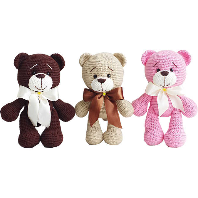 Crochet Teddy Bear Baby Blanket | 674x674